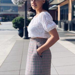 Zara Tops - Zara White crop top